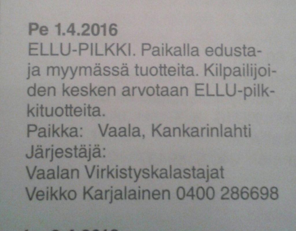 Ellu Pilkki avaa Oulunjärven pilkkiviikot!