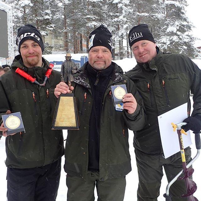 Ruotsin SM-pilkit 2019 Luulaja. Miesten joukkue pilkki voittoon Särki-Ellulla